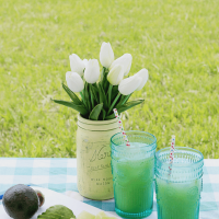 Creamy Avocado Drink: Agua Fresca de Aguacate