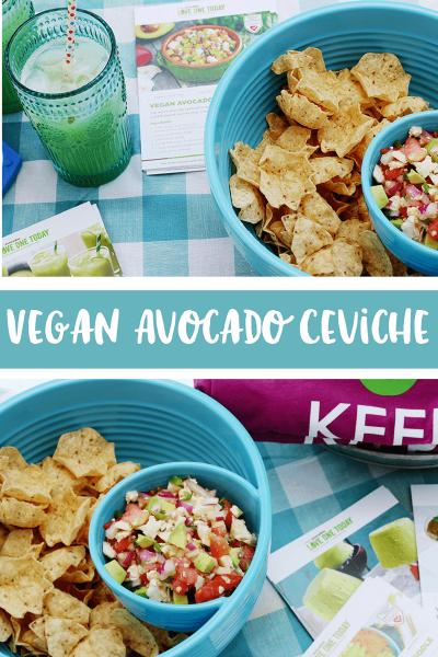 Vegan Avocado Ceviche Recipe | Avocado Party Ideas