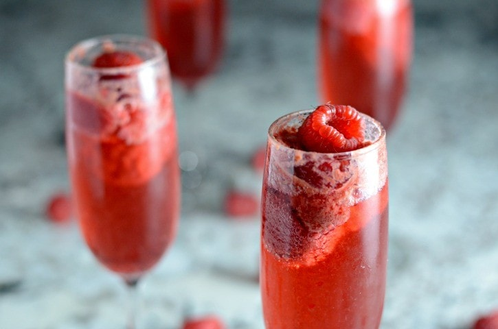 Amazing Raspberry Bellini