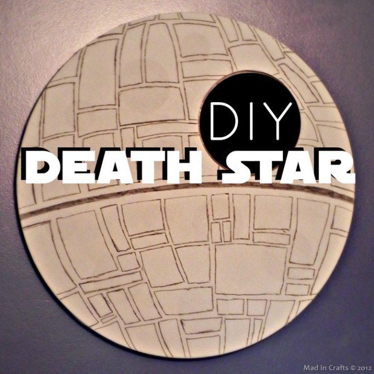DIY Death Star Mirror Mad in Crafts