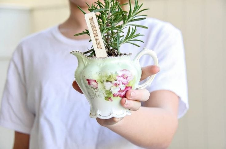How To Make A DIY Herb Planter – Easy Hostess Gift