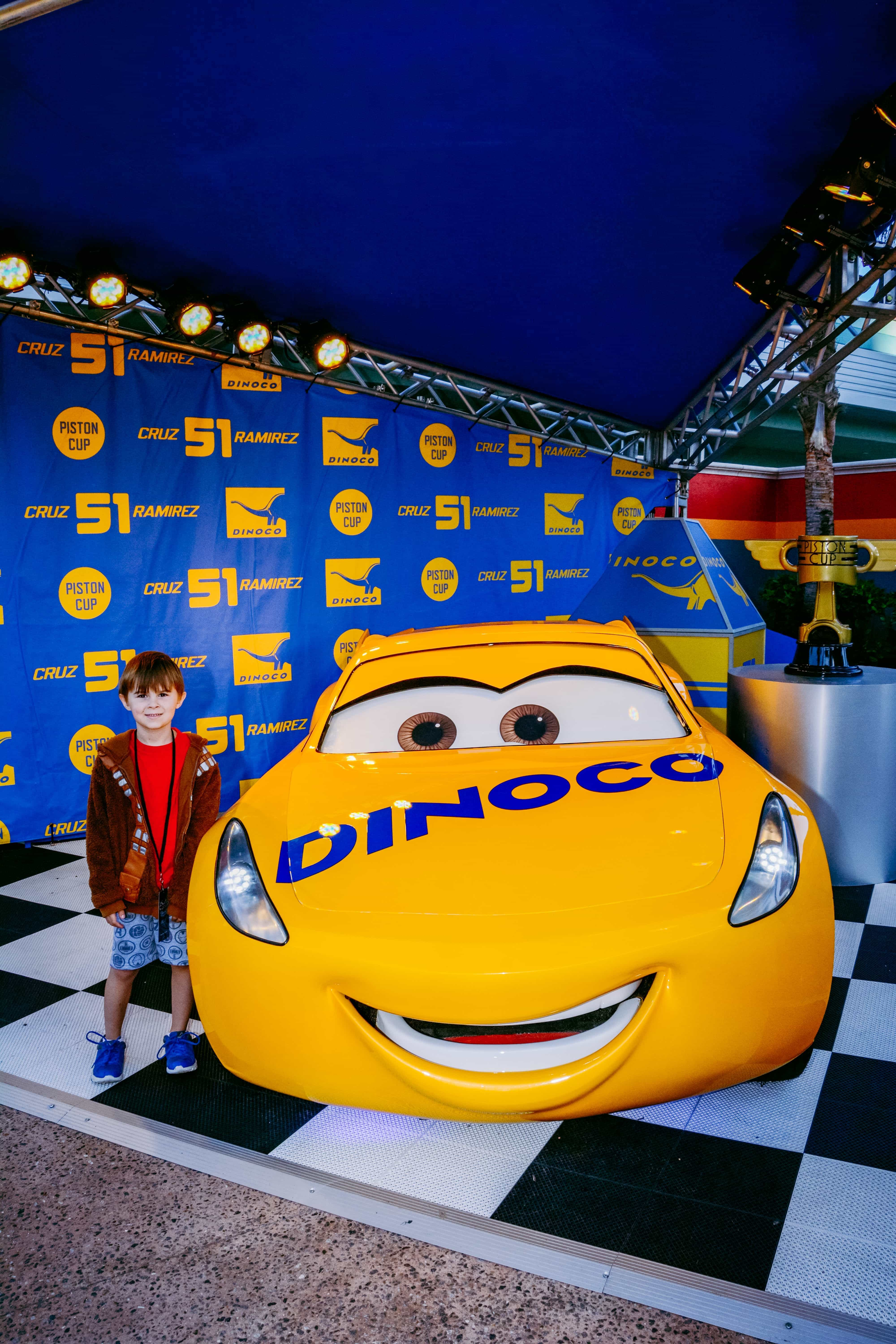 New at Hollywood Studios: Lightning McQueen's Racing Academy