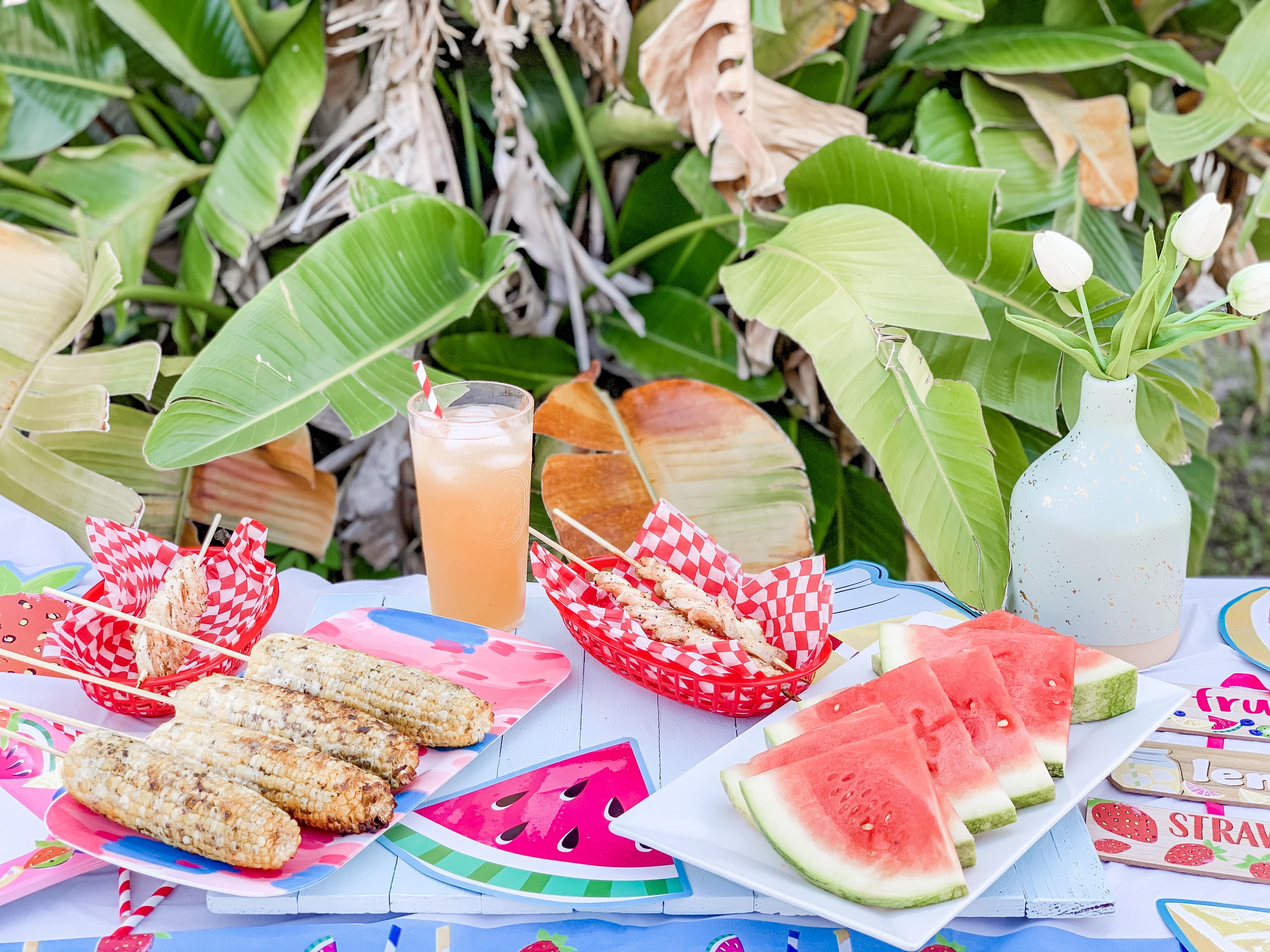 Florida summer party ideas