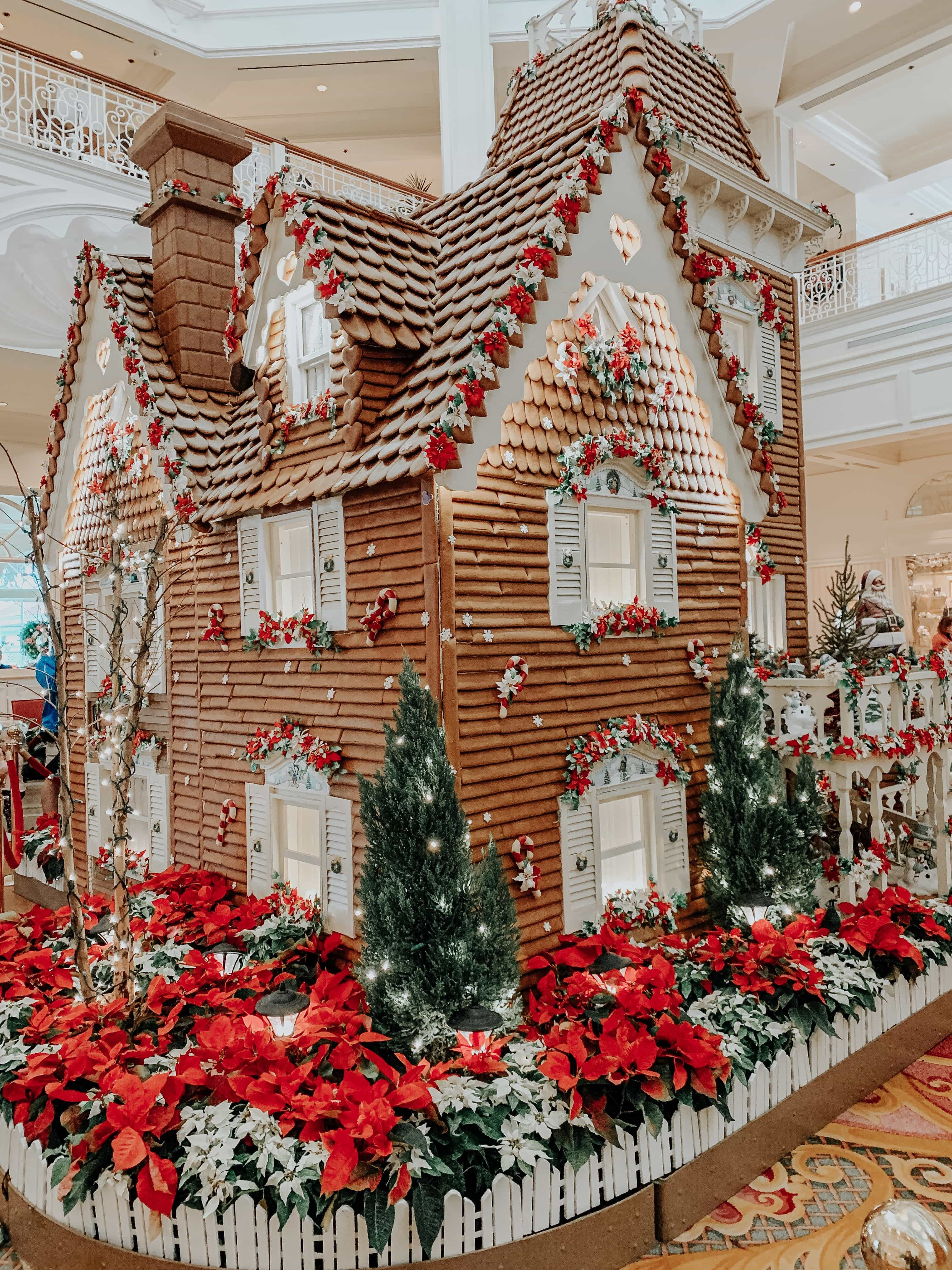 Christmas at Disney World: Grand Floridian Resort Gingerbread House