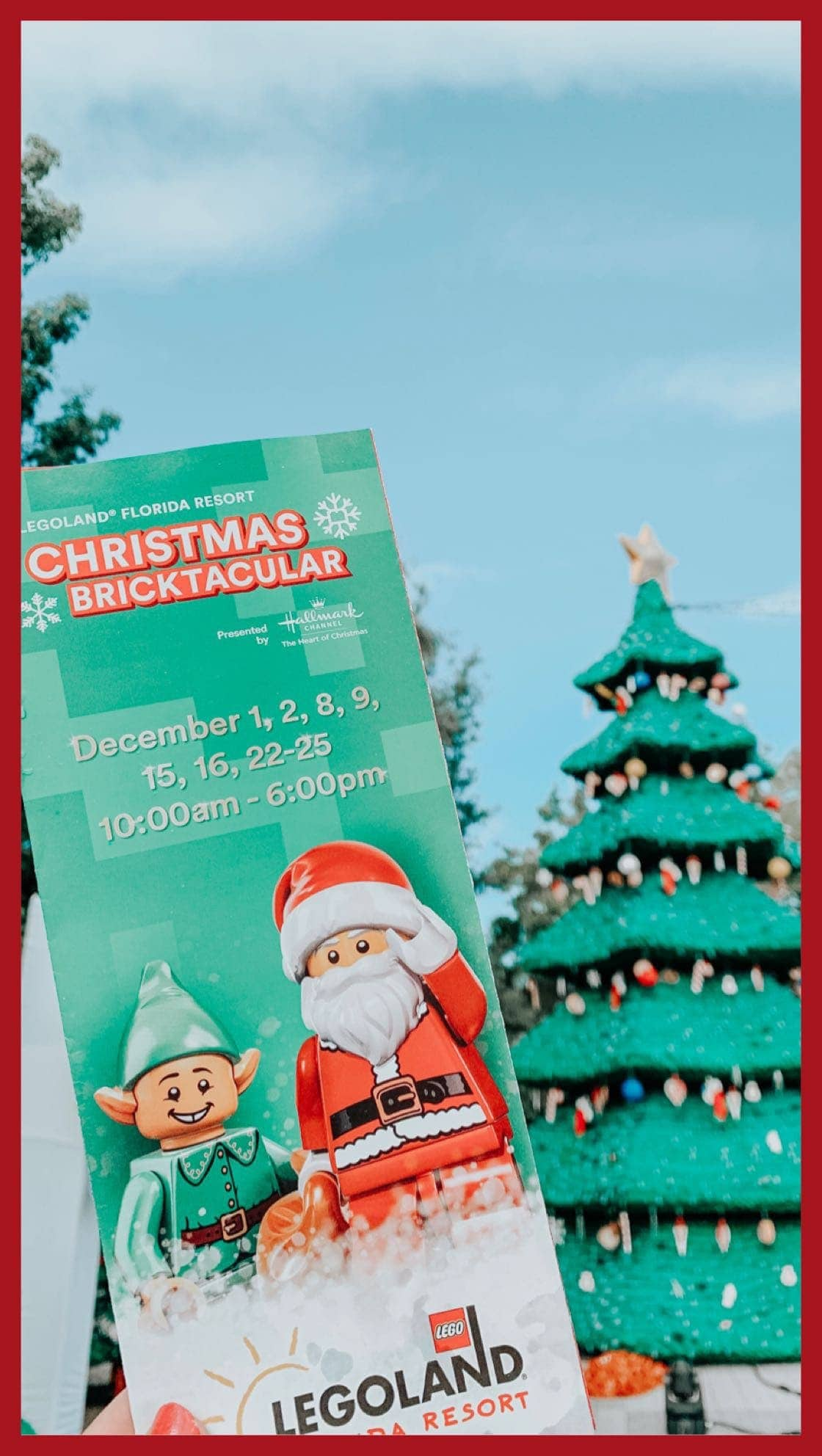 Christmas Bricktacular at LEGOLAND Florida