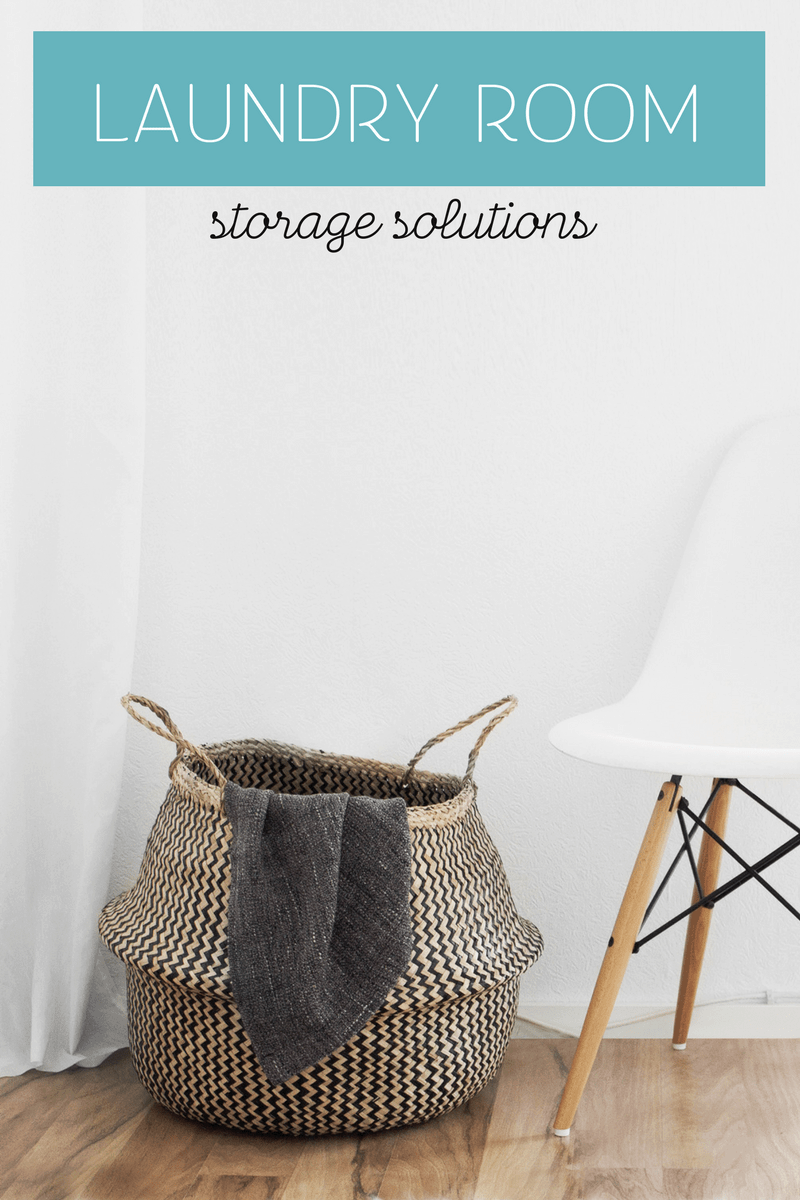 Laundry Room Storage Solutions Sunny Sweet Days