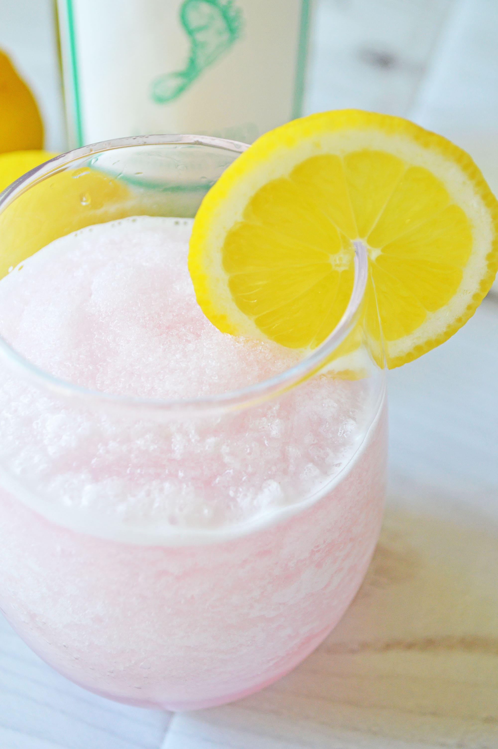 Pink Lemonade Wine Slushie Recipe