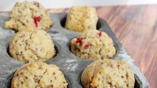 Quinoa Recipes: Quinoa and Cranberry Muffins