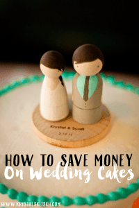 How to Save Money on a Wedding Cake