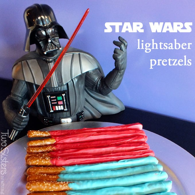 Star Wars Lightsaber Pretzels
