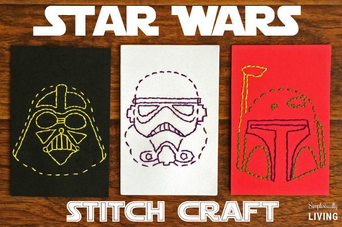 Star Wars Stitch Craft + Free Printables