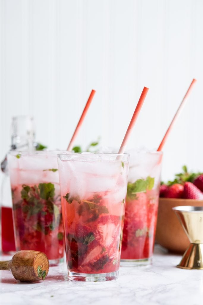 The Ultimate Strawberry Mojito