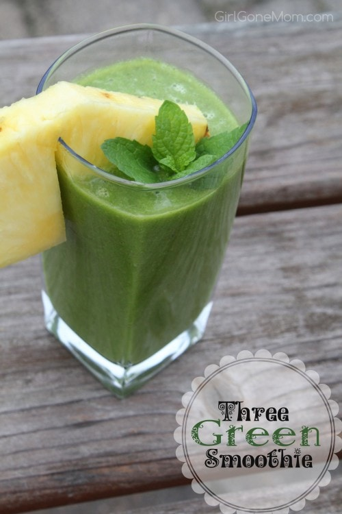Three Green Smoothie