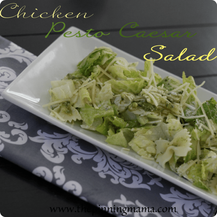 Chicken Pesto Caesar Salad